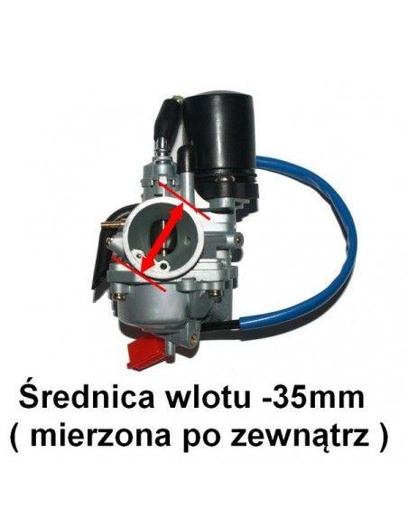 Cylinder gaźnik tuning skutera 2T