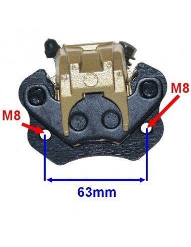 Prawy zacisk hamulca przedniego do quada
