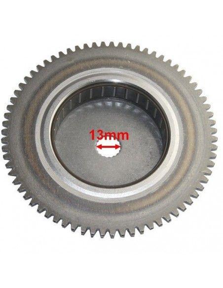 bendix sprzęgło rozrusznika na czop wału 13mm ( 17 frezów )