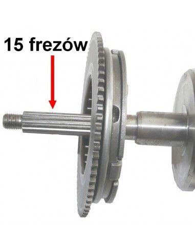bendix sprzęgło rozrusznika na czop walu 16mm ( 15 FREZÓW )
