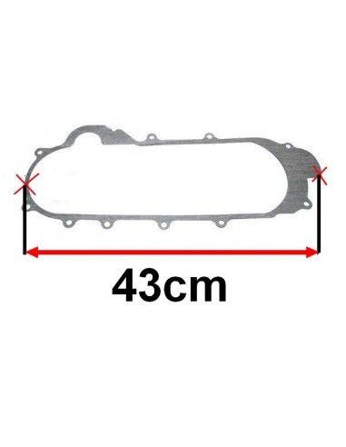 uszczelka pokrywy silnika 43cm do skutera 4T 50 na kolach 12 i 13 cali