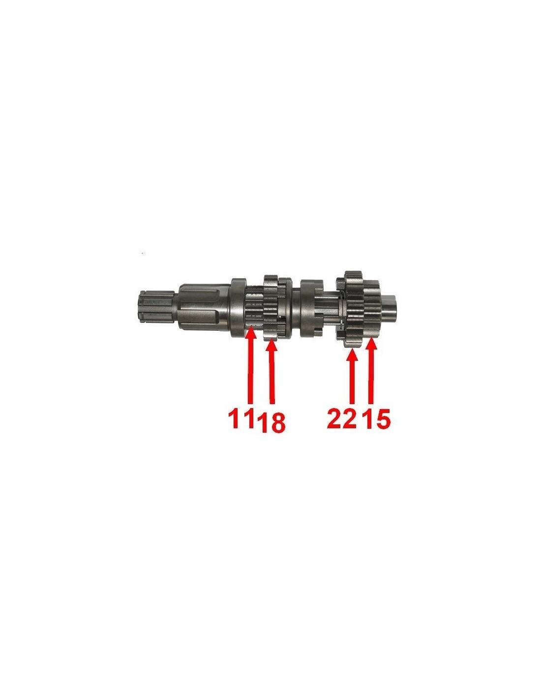 Wałek skrzyni biegów quad 200 250