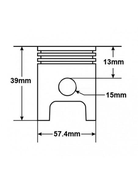 Średnica tłoka w cylindrze do quada 150