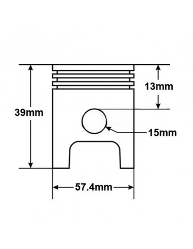 Cylinder + głowica quad 150 automat