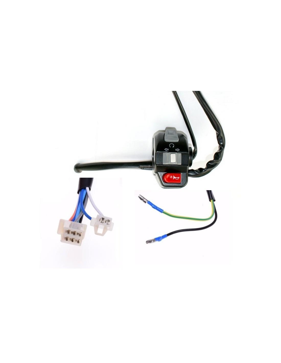 Przełącznik lewy - część do skutera Router Bassa 4