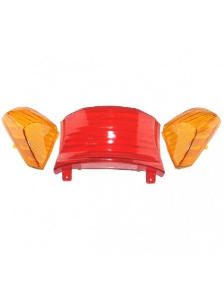 zestaw kloszy tylnej lampy - części do skutera Router Bassa