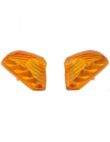 klosze kierunkowskazów w kolorze pomarańczowym - części do skutera Router Bassa
