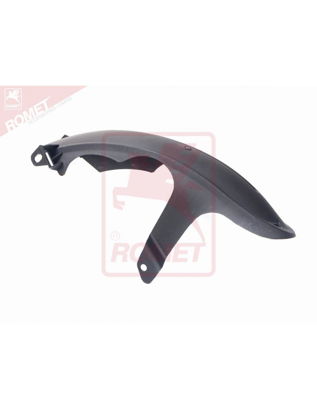 Część do skutera Romet 727 Premium 2014 - 2016 błotnik nadkole chlapacz  tył plastikowy koloru czarnego mat