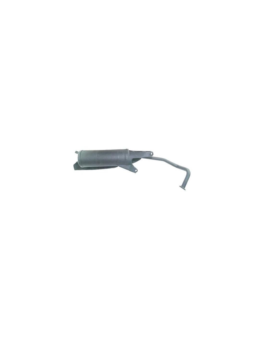 tłumik wydechowy skuter 4T 50 na kołach 12 i 13 cali