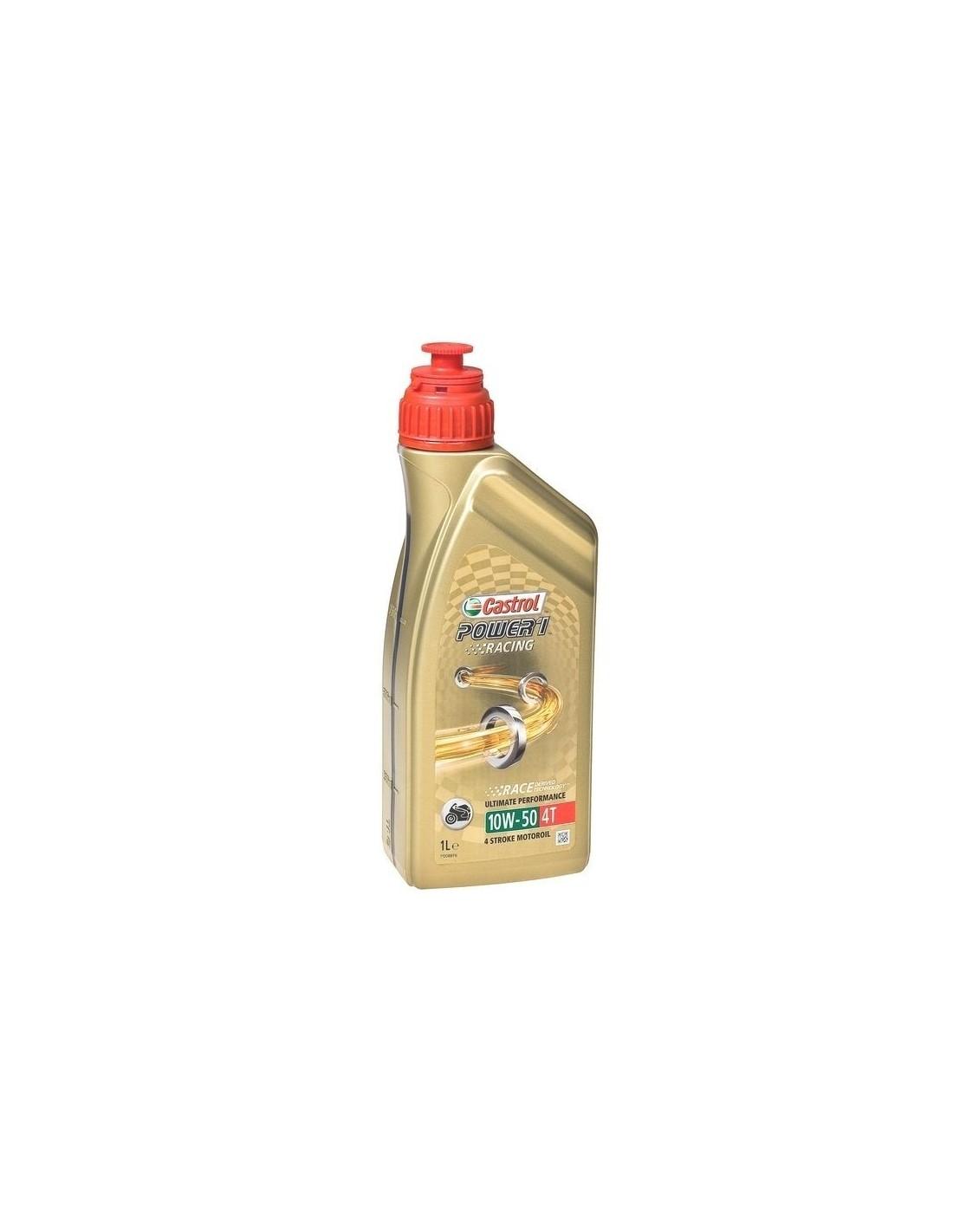 olej silnikowy 10W-40 półsyntetyczny  CASTROL POWER RACING 1litr